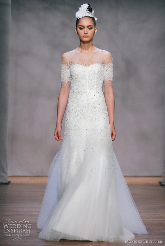 Monique Lhuillier wedding dresses 2011